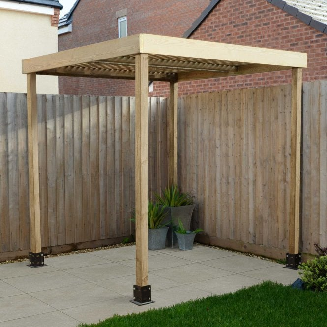 Click to view product details and reviews for Modular Pergola No Side Panels.