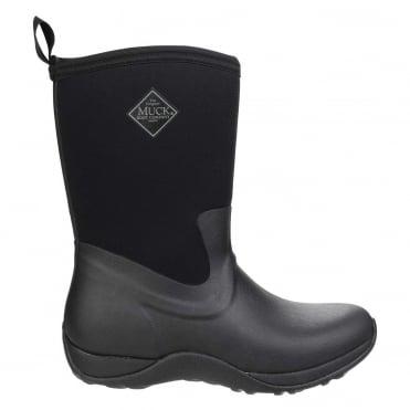 Arctic Weekend Boots in Black