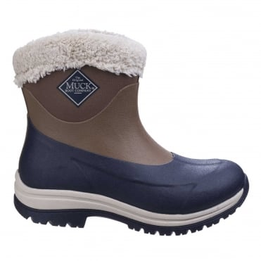 Arctic Apres Slip-On Boots in Otter/ Navy