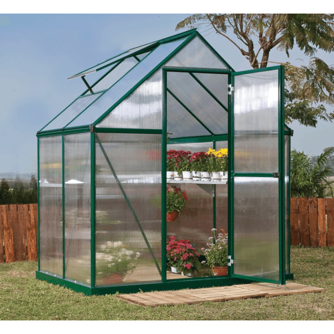 Click to view product details and reviews for Mythos Greenhouse 6ft X 4ft Green.