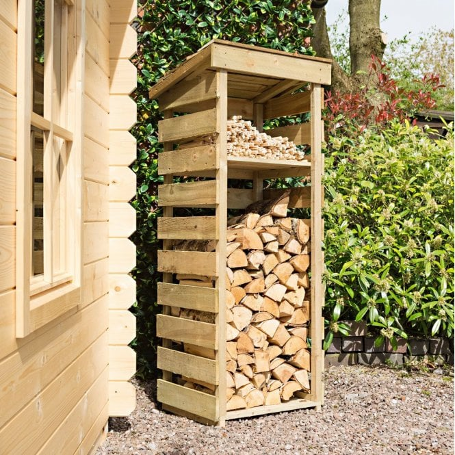 Click to view product details and reviews for Narrow Log Store.