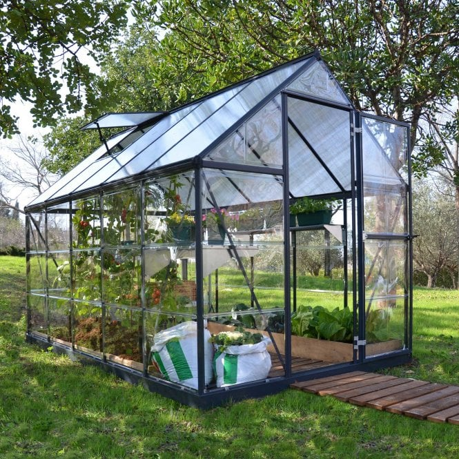 Click to view product details and reviews for Nature Hybrid 6 X 10 Greenhouse Grey.