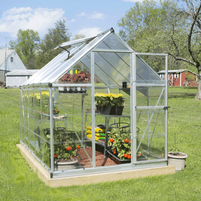 Click to view product details and reviews for Nature Hybrid 6 X 10 Greenhouse Silver.