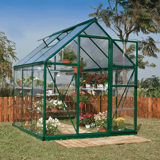 Click to view product details and reviews for Nature Hybrid 6 X 6 Greenhouse Green.
