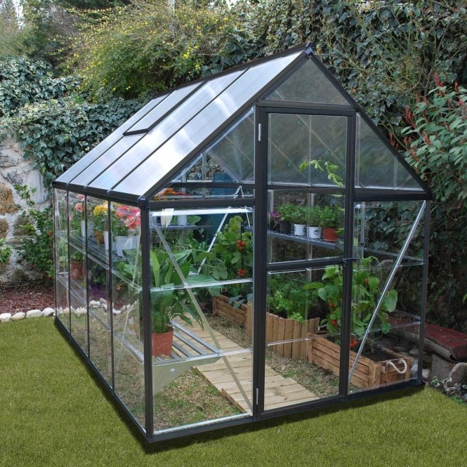 Click to view product details and reviews for Nature Hybrid 6 X 8 Greenhouse Grey.