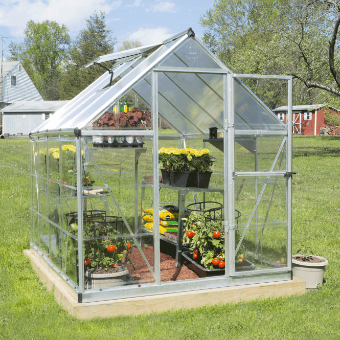 Click to view product details and reviews for Nature Hybrid 6 X 8 Greenhouse Silver.