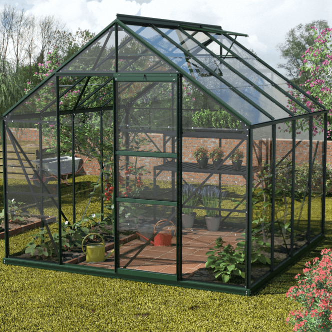 Click to view product details and reviews for Neptune 6700 8 X 8 Greenhouse Green.
