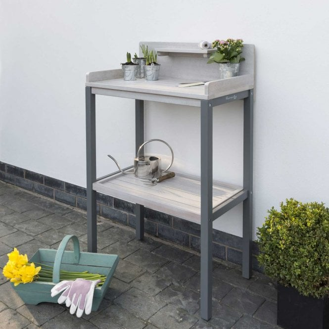 Click to view product details and reviews for Norfolk Leisure Florenity Grigio Potting Table.
