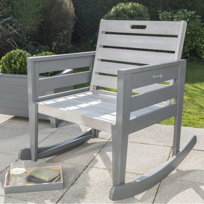 Click to view product details and reviews for Norfolk Leisure Florenity Grigio Rocking Chair With Seat Pad.