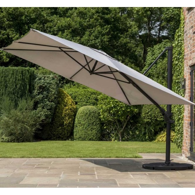 Norfolk Leisure Garden Must Haves Deluxe Cantilever Parasol