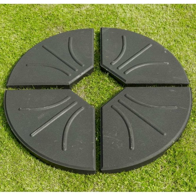 Click to view product details and reviews for Norfolk Leisure Garden Must Haves Four Part Black Cantilever Base 80kg.