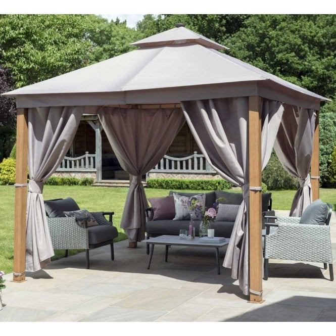 Click to view product details and reviews for Norfolk Leisure Garden Must Haves Luxury Gazebo 3m X 3m With Led.