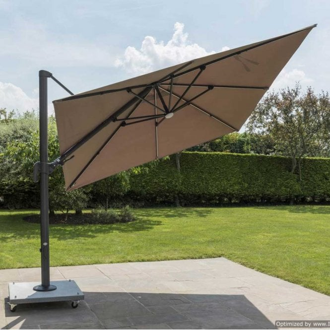 Click to view product details and reviews for Norfolk Leisure Garden Must Haves Palermo Square Cantilever Parasol Led Strip Lights.