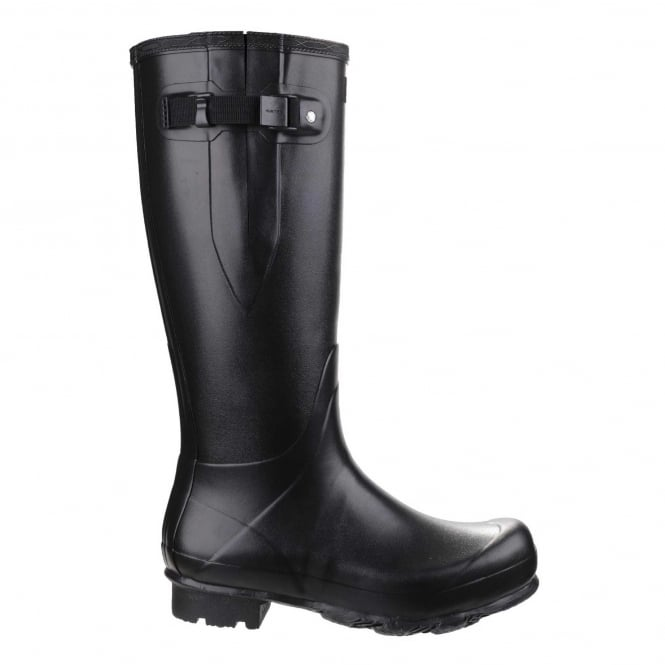 Norris Adjustable Field Wellington Boots In Black