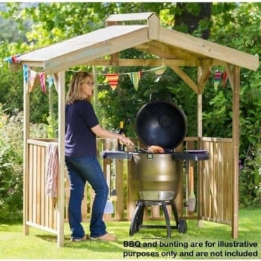 Norwood Ashton Barbeque Shelter