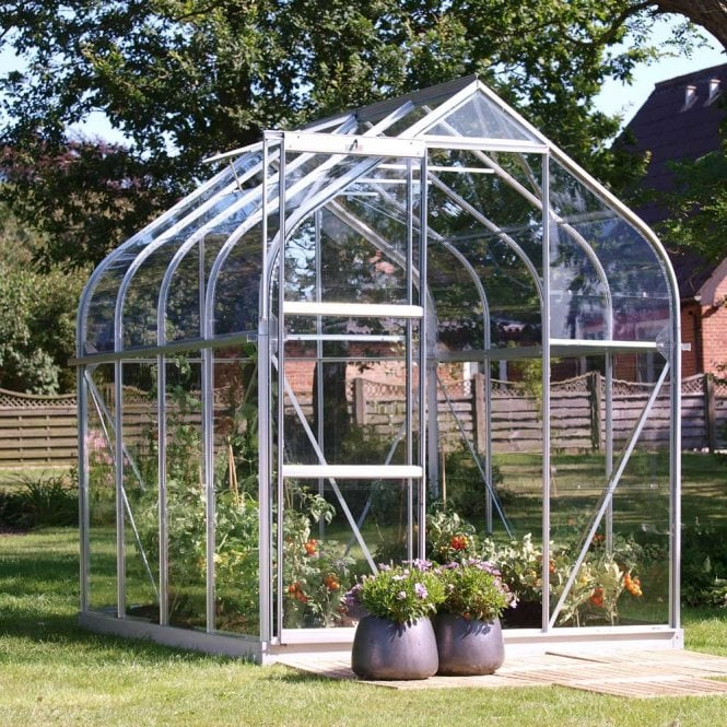 Orion 5000 8 X 6 Greenhouse Silver