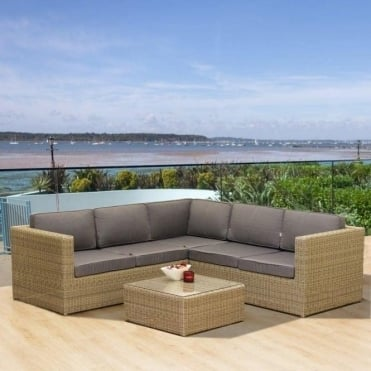 Oseasons Hampton Luxury Lounge Deep Seating Sofa Set