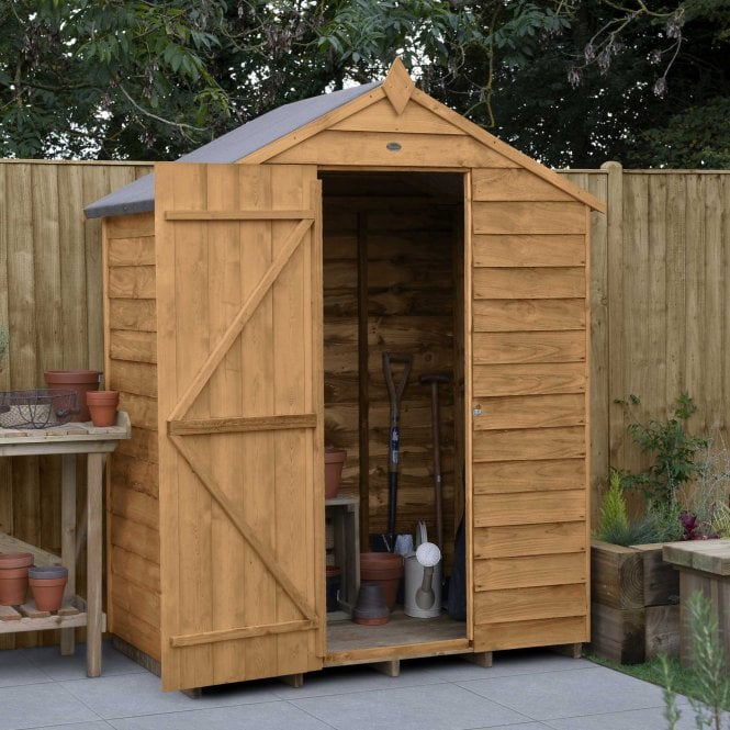 Overlap Dip Treated 5 X 3 Apex Shed No Window