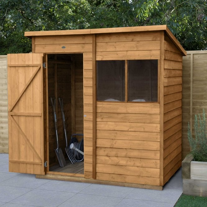 Click to view product details and reviews for Overlap Dip Treated 6 X 4 Pent Shed.