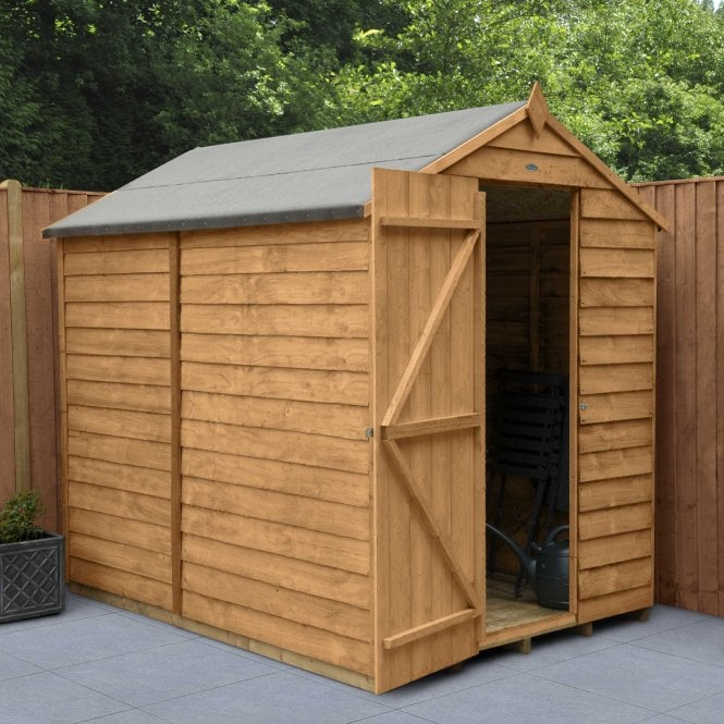 Overlap Dip Treated 7 X 5 Apex Shed No Windows