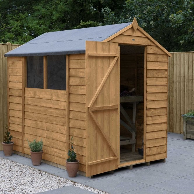 Click to view product details and reviews for Overlap Dip Treated 7 X 5 Apex Shed.