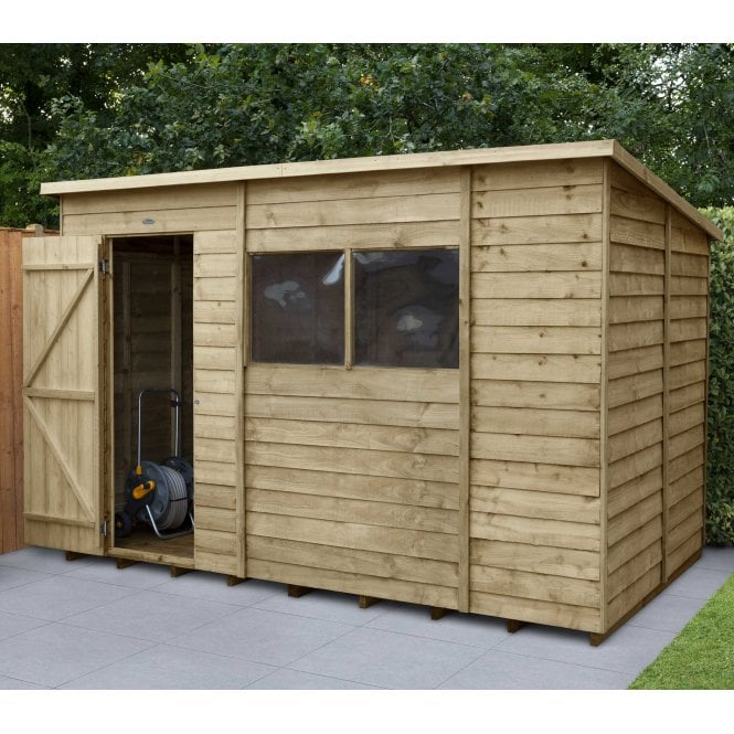 Click to view product details and reviews for Overlap Pressure Treated 10 X 6 Pent Shed.