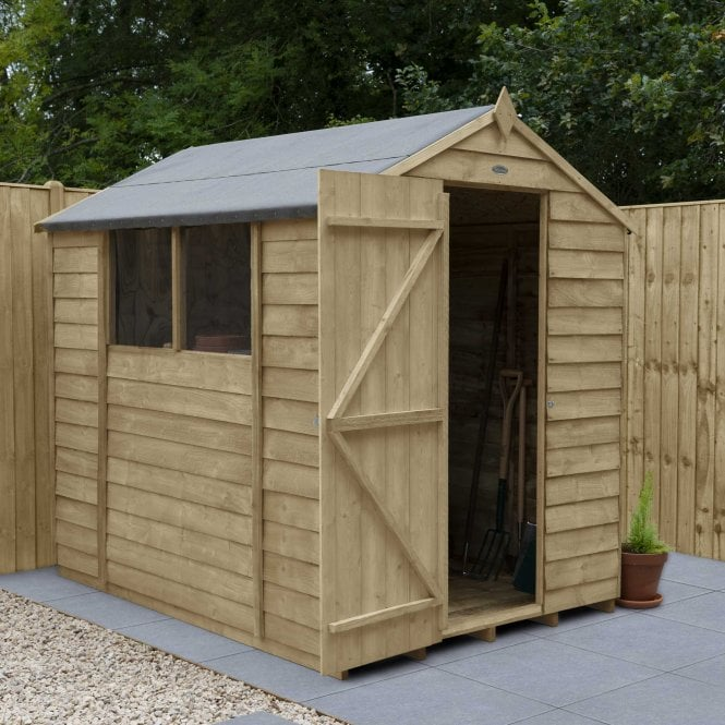 Click to view product details and reviews for Overlap Pressure Treated 7 X 5 Apex Shed.