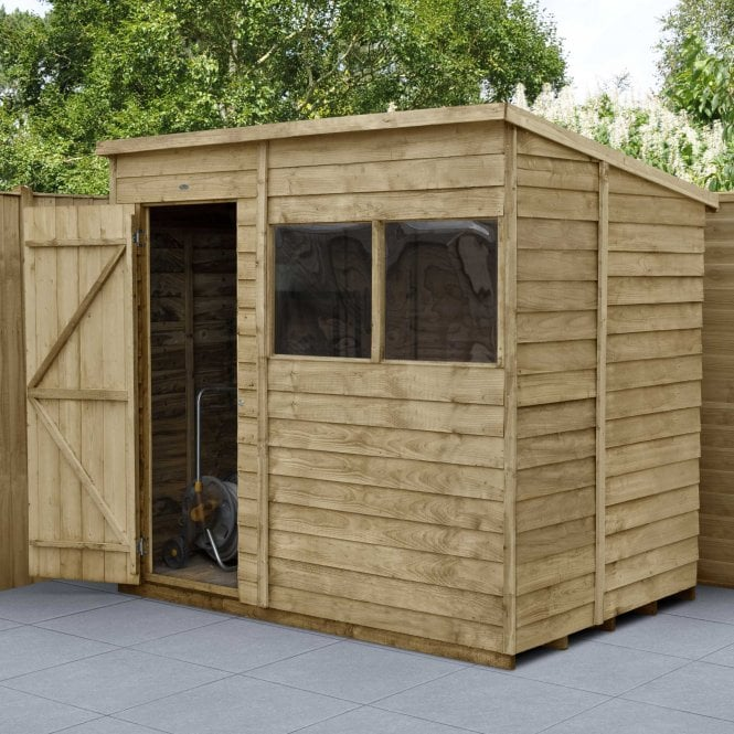 Click to view product details and reviews for Overlap Pressure Treated 7 X 5 Pent Shed.