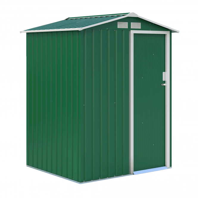 Click to view product details and reviews for Oxford 1 Green Metal Shed 5 X 4.