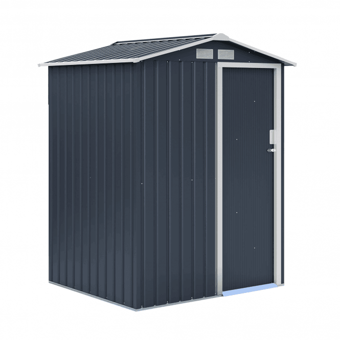 Click to view product details and reviews for Oxford 1 Grey Metal Shed 5 X 4.