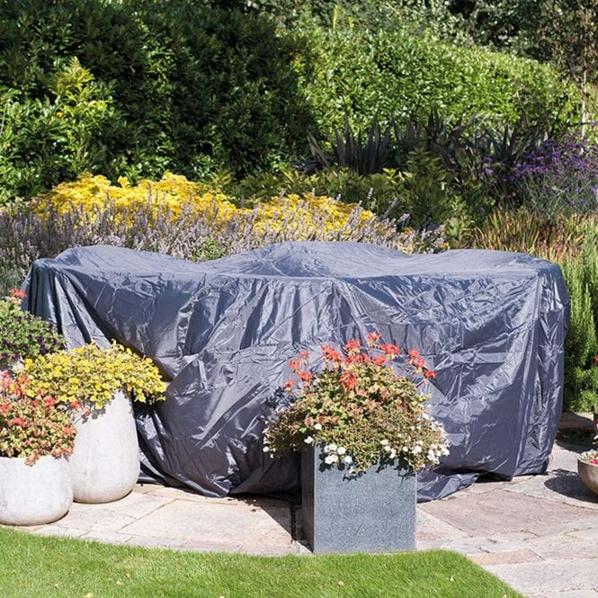 Click to view product details and reviews for Pacific Lifestyle Aerocover Round Garden Set 320 X 85cm.