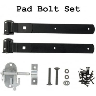 Pad Bolt Gate Fixing Set