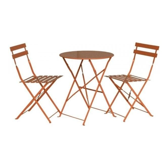 Click to view product details and reviews for Padstow Folding Bistro Set 2 Colour Options.