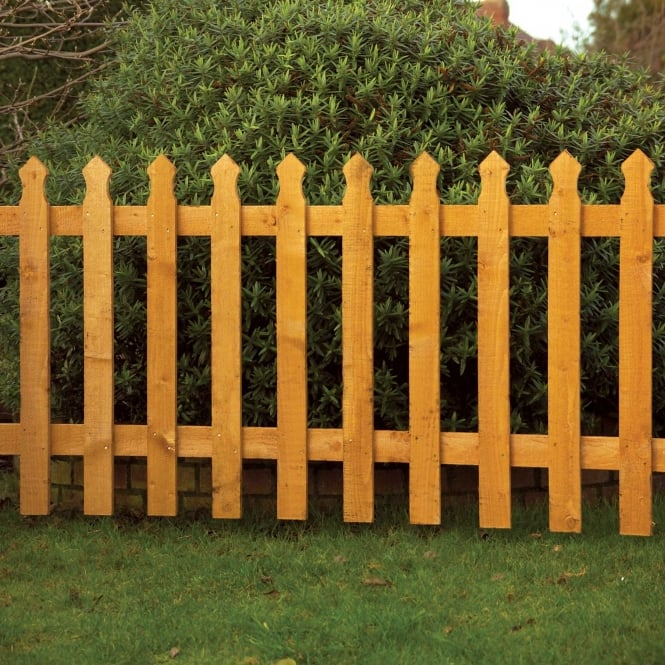 Click to view product details and reviews for Palisade Panel Tulip Picket Fence.