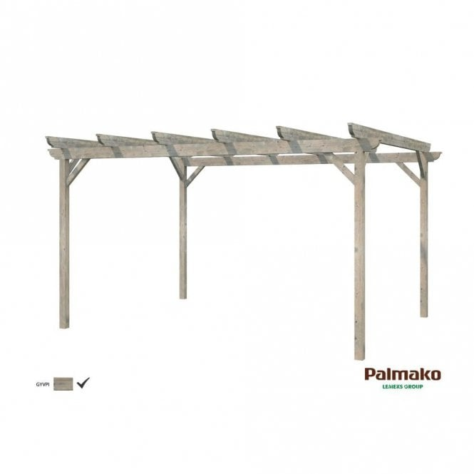 Click to view product details and reviews for Palmako Paula Pergola 126m².