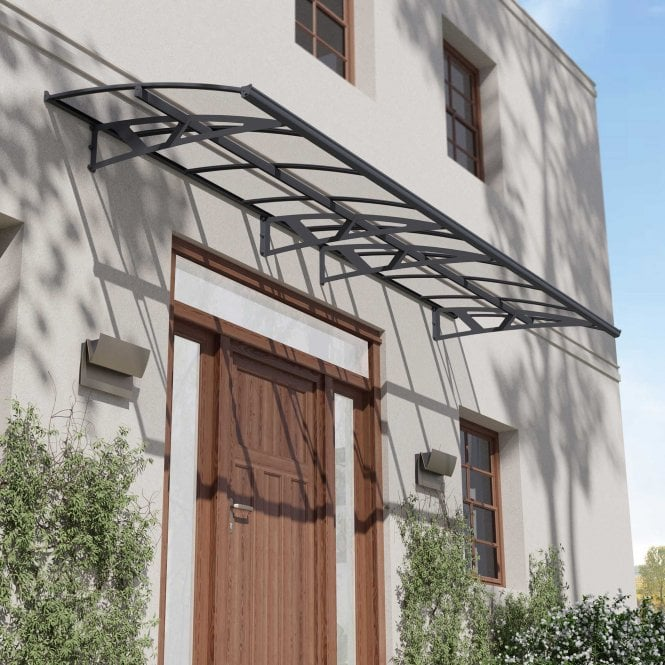 Click to view product details and reviews for Palram Canopy Amsterdam 4460 Grey Clear.