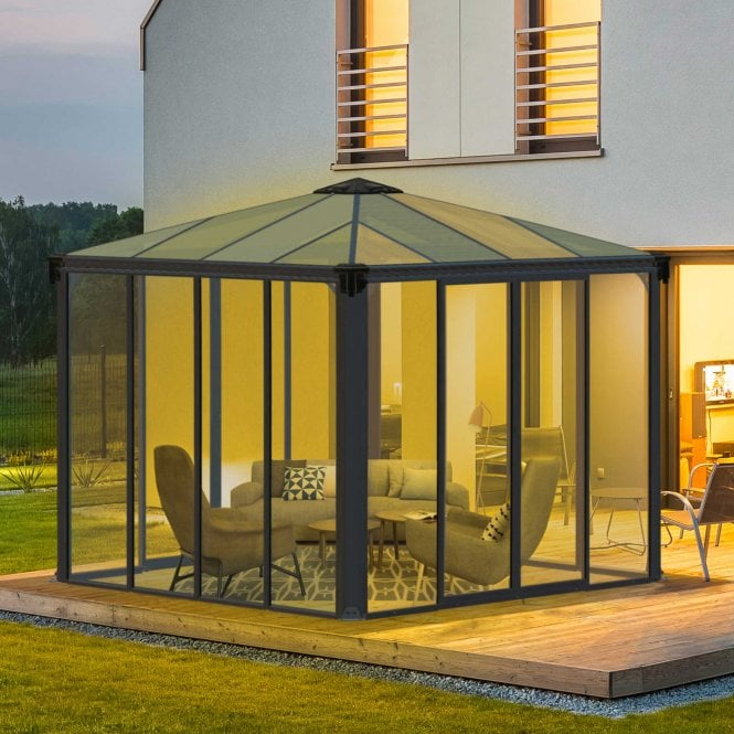 Click to view product details and reviews for Palram Ledro 3m Enclosed Gazebo.