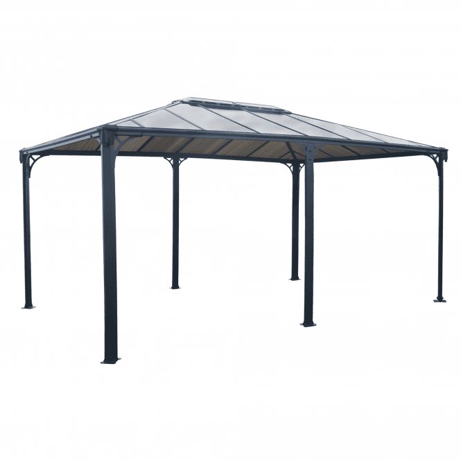 Click to view product details and reviews for Palram Martinique 5000 Garden Gazebo – Grey.