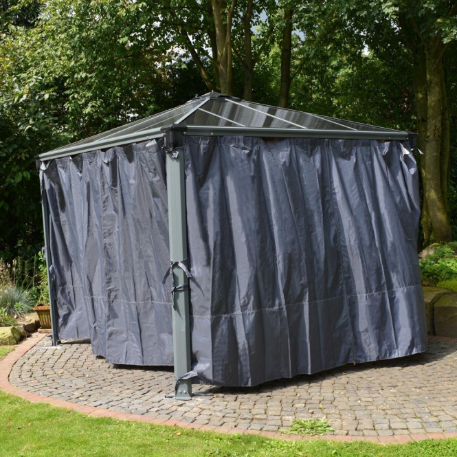 Click to view product details and reviews for Palram Palermo Gazebo Curtains.