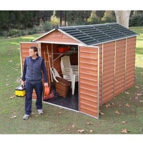 Palram Skylight 6ft Wide Shed / Choice of 5 Depths