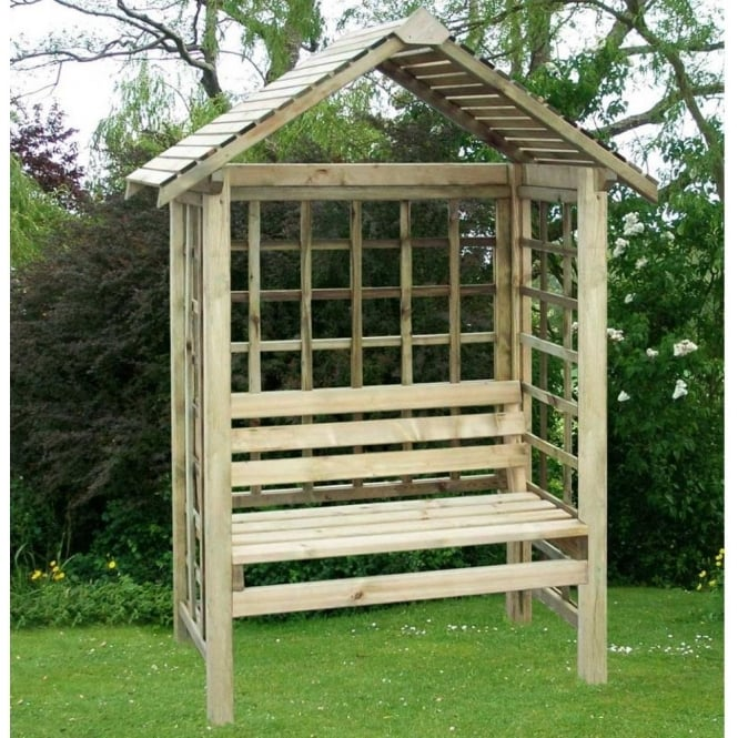 Click to view product details and reviews for Pantheon Cassandra Timber Garden Arbour.