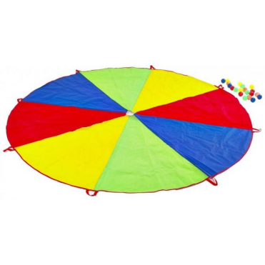 Parachute Game with Plastic Balls Included