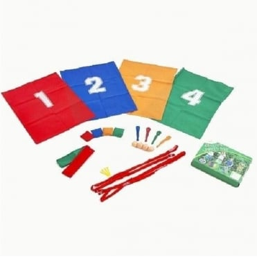 Party Sports Day Set with 4 Different Games