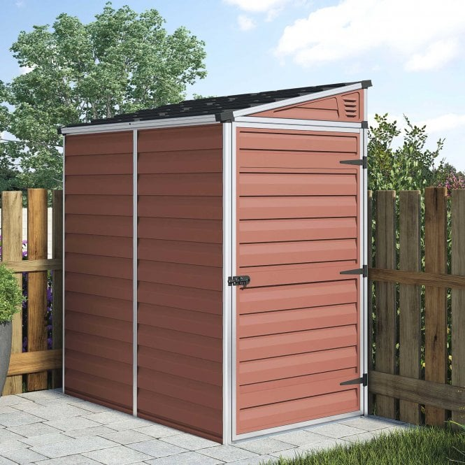 Pent Shed 4 X 6 Amber