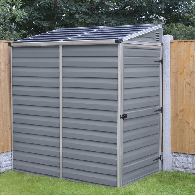 Pent Shed 4 X 6 Grey