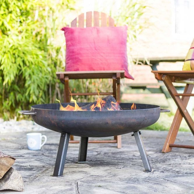 Click to view product details and reviews for Pittsburgh Industrial Heavy Duty Steel Firepit Small.