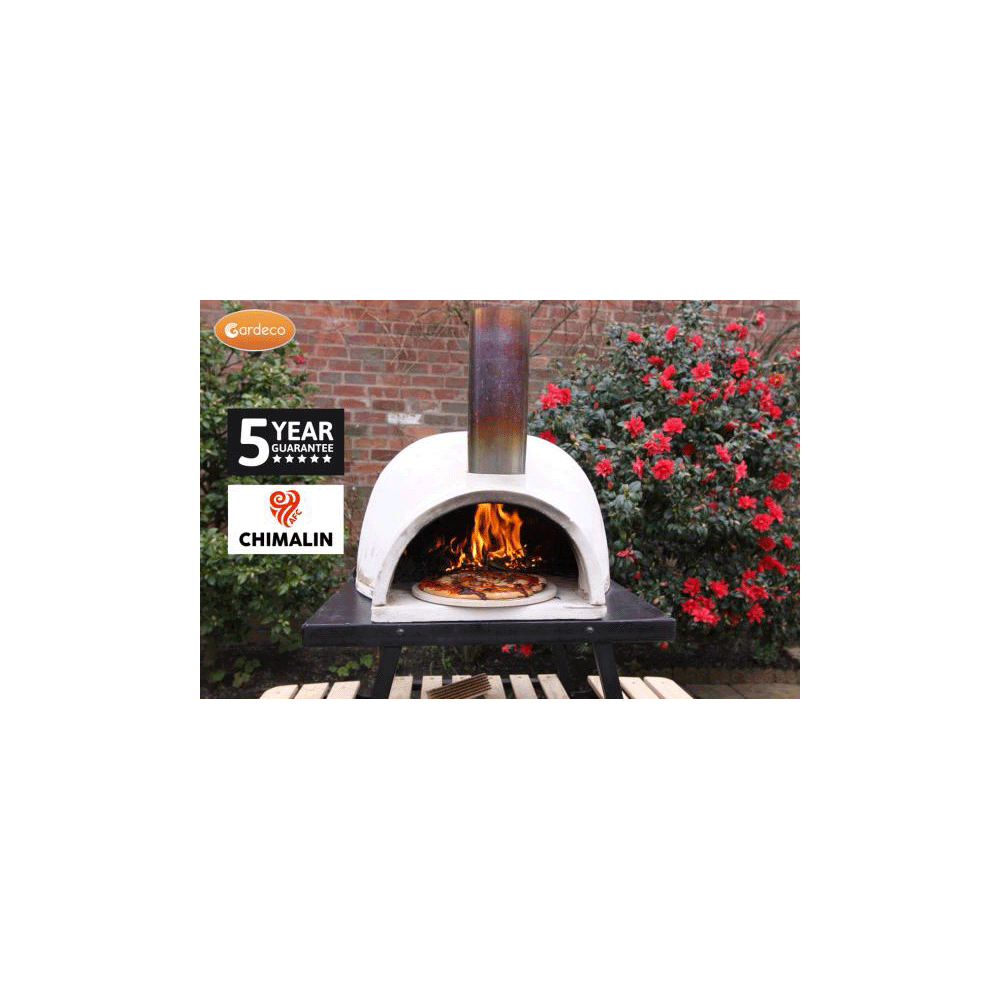 Gardeco PIZZARO traditional pizza oven made of CHIMALIN AFC
