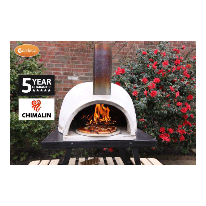 Pizzaro Traditional Pizza Oven Made Of Chimalin Afc