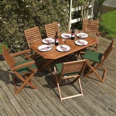 Plumley Hardwood 7 Piece Furniture Set