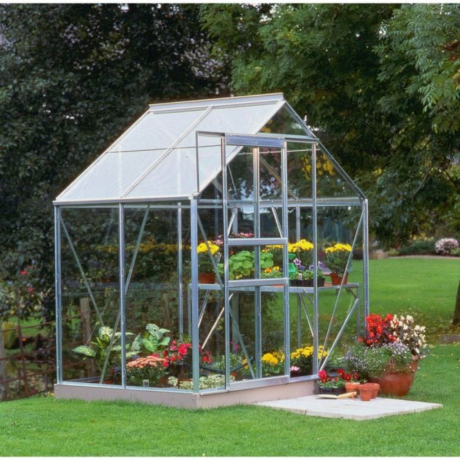 Click to view product details and reviews for Popular 6ft X 4ft Greenhouse Silver.